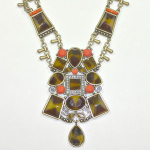 Silpada Sahara Sun Tortoise Orange Necklace